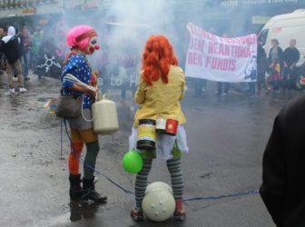 Protest gegen Marsch fürs Läbe