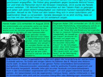 Plakat: LGBTIQ-Aktivist*innen in der Türkei