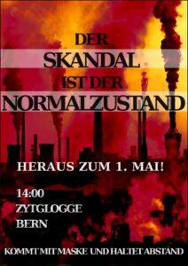 Heraus zum revolutionären 1.Mai in Bern @ Zytglogge Bern